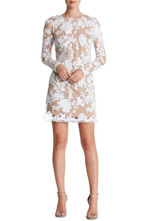 Swooning over this girly long sleeve shift dress