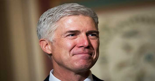 Gorsuch Just Had His First Day as Supreme Court Justice. What He Did Stunned EVERYONE!