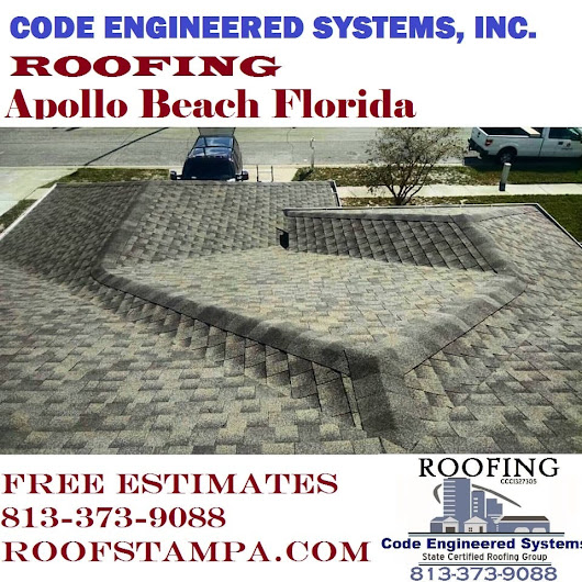 Roofing Apollo Beach Florida | Roofing Contractors Tampa FL. | Code Engineered Systems, Inc.