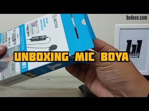 Mic Boya By-M1 | Unboxing