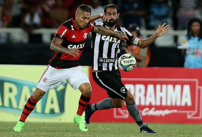 Guerrero, Flamengo, Renan Fonseca, Botafogo (Foto: Vitor Silva/SSPress/Botafogo)
