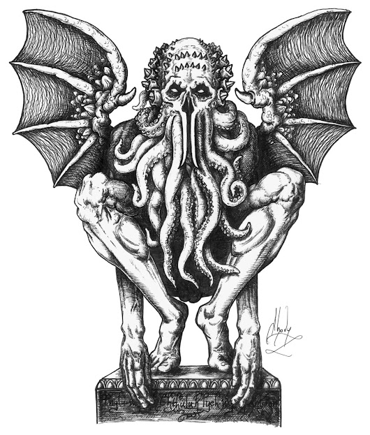 fatalitum:   The Call of Cthulu by H.P. Lovecraft... -