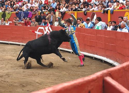 Banderillas de Fernando Roca Rey en Acho 2008