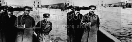 stalin doctored photos