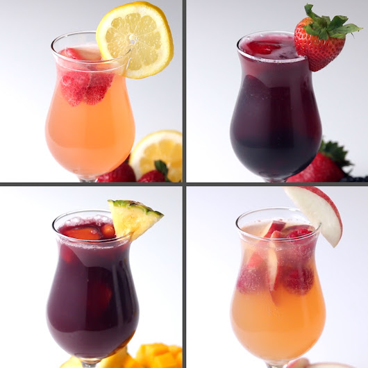 Sangria 4 Ways by Tasty