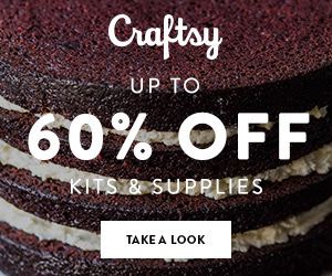 Up to 60% Off Cake Decorating Supplies at Craftsy.com 3/22-3/25/18 11:59pm MST.