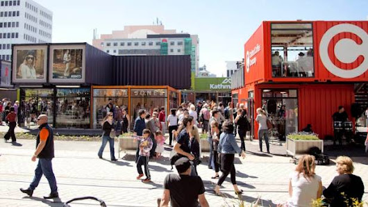 Shipping containers on trend