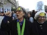 Manifestación de mujeres en Egipto