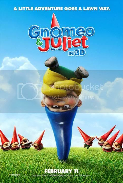 gnomeo and juliet 2010 poster