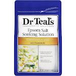 Dr. Teal's Epsom Salt Soaking Solution, Chamomile - 3 lb bag
