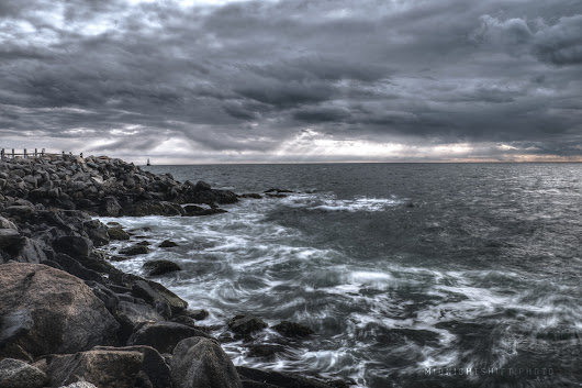 Stormy Skies over Sakonnet Point