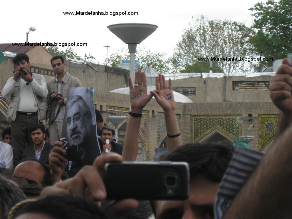 Mir Hossein Mousavi in Zanjan by Mardetanha_0822 (Large)