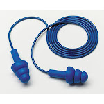 3M 340-4017 E-A-R UltraFit Earplugs, Metal Detectable, Corded, Econopack, 2000 EA/Case