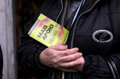 """O Bloco de Esquerda recebeu nos últimos dias centenas de queixas por parte de beneficiários do subsídio social de desemprego inexplicavelmente """"desaparecidos"""" dos ficheiros. Foto Paulete Matos"""