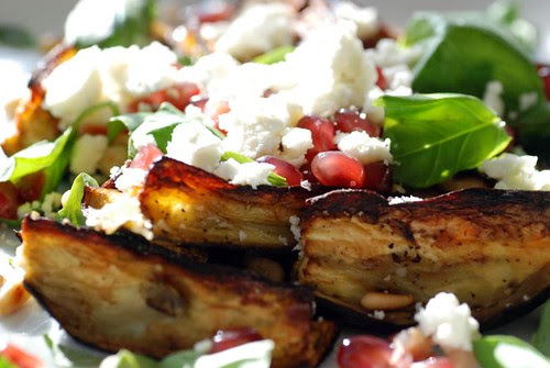 eggplant-feta-pomegranate