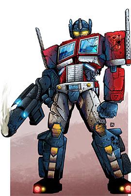 Gambar Kartun Robot Transformer