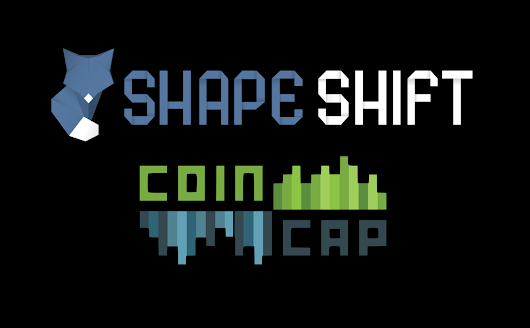 Shapeshift & CoinCap - Over $15m of digital assets exchanged