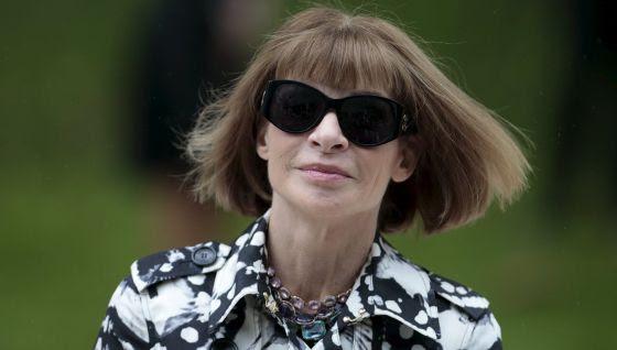 Anna Wintour es la editora de Vogue