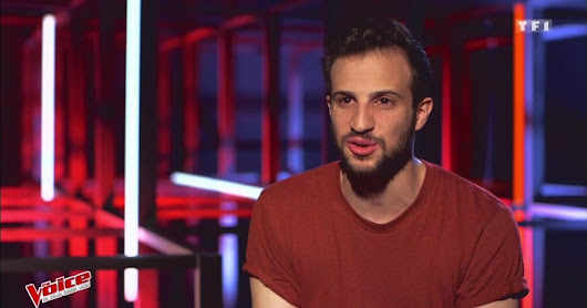 The Voice  : Marvin Dupré en répétition coaché par Zazie  - TF1