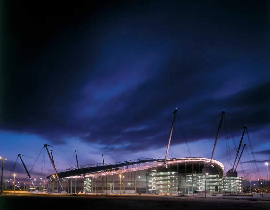City of Manchester Stadium - e-architect