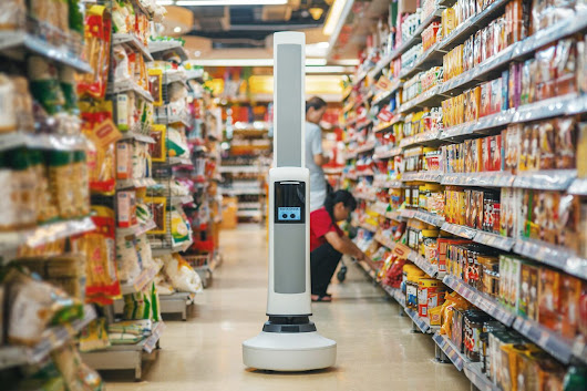 Where's the sugar? Supermarket Robot Tells Where It Is. - Thingbits Blog