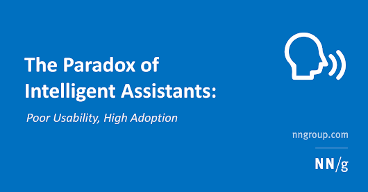 The Paradox of Intelligent Assistants: Poor Usability, High Adoption