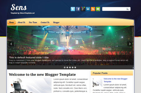 sens-blogger-template