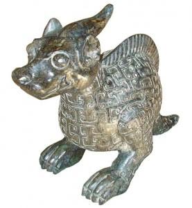 Artefato Shang Dinastia