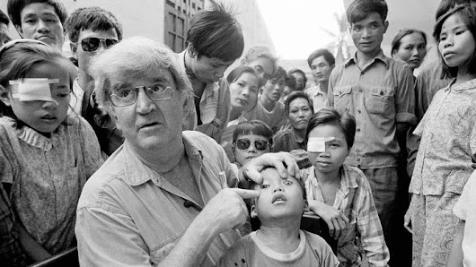 What happened to the little boy in the iconic Fred Hollows photo?