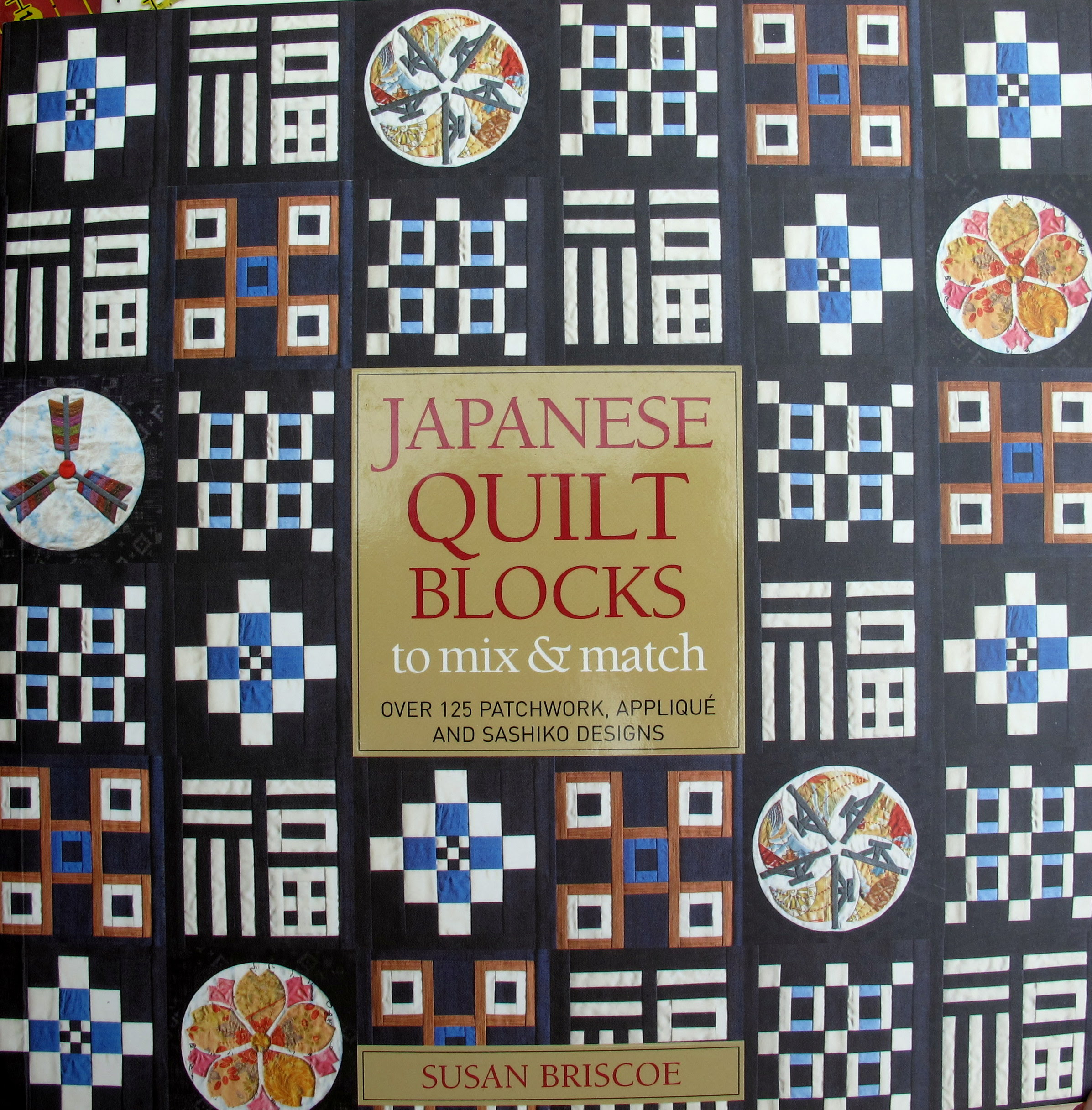 Japanes quilt blocks book