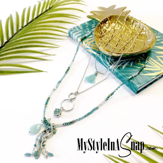 Turquoise Jewelry for a Tropical Feel