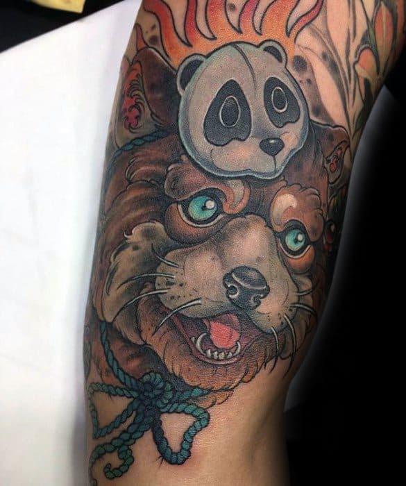 60 Red Panda Tattoo Designs For Men - Animal Ink Ideas