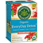 Traditional Medicinals Organic Everyday Detox Tea - Schisandra Berry | 16 Bags