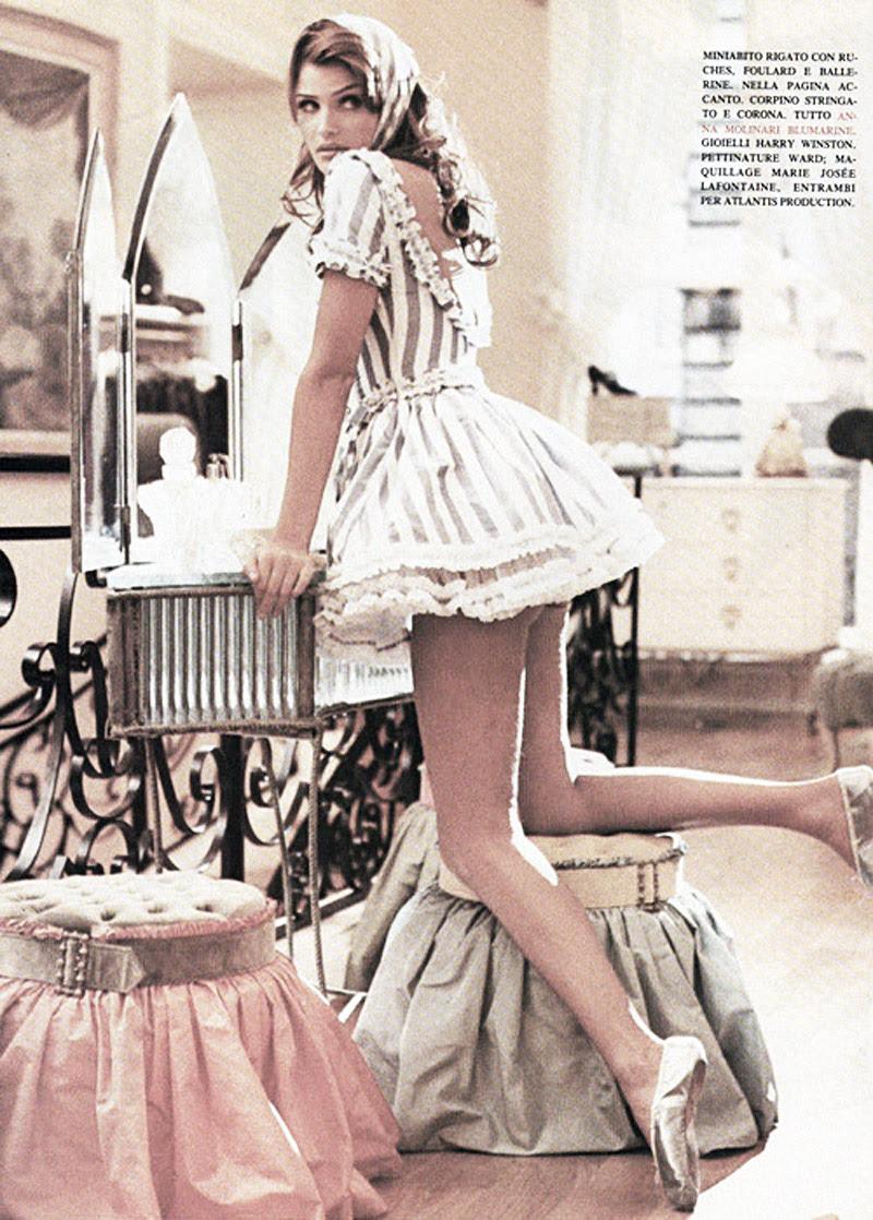 Fashion editorials, Ballerina, Fashion