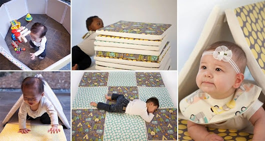 Breathe And Play On 'CorkiMat' The Non Toxic Multifunctional Baby Mat