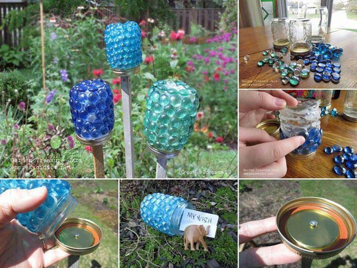 Pinterest Yard and Garden DIY Crafts