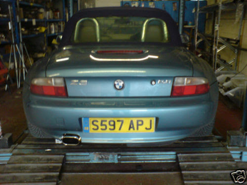 BMW Z3 2.0\/2.8\/STAINLESS STEEL EXHAUST SYSTEMFITTED  eBay