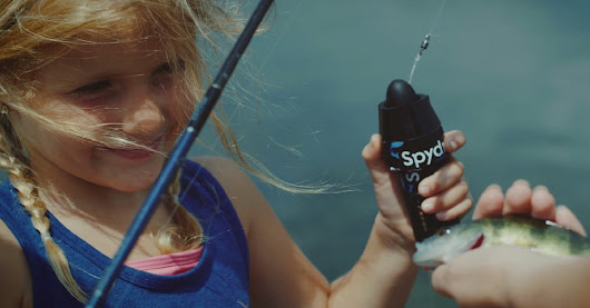 Spydro guppy cam captures footage from the fishing line