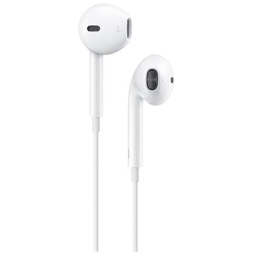 Apple Earpods with Lightning Connector for iPhone 8, 7 and iPhone 7 Plus - Bulk, White
