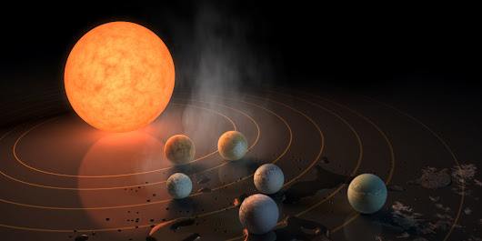 Seven Earth-Like Planets Orbit One Nearby Star