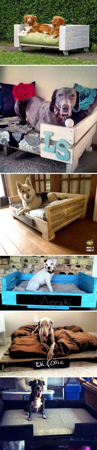Dog Bed from pallet