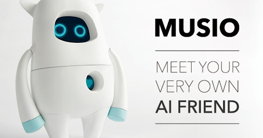 CLICK HERE to support Musio: Your Curious New Friend