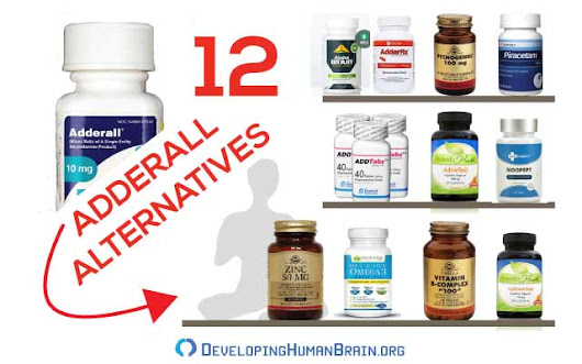 12 Best Over The Counter Adderall Alternatives For Studying