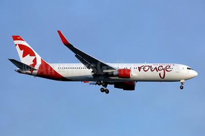 Air Canada rouge (Air Canada) Boeing 767-333 ER WL C-FMWU (msn 25585) (Winglets) YYZ (TMK Photography). Image: 922563.