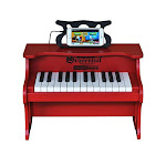 Schoenhut 25 Key Digital Table Top Piano Red