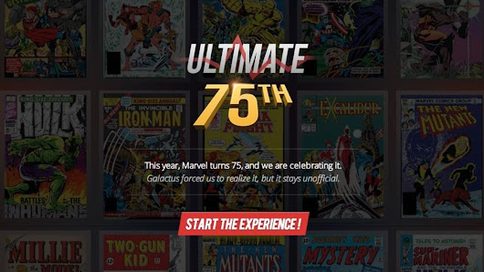 Explore 75 years of Marvel superheroes from A-Bomb to Zzzax