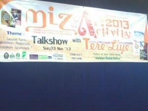 Talkshow Tere Liye @FEB UNDIP (03/11)
