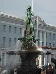 Statue Havis Amanda, Helsinki, Finland