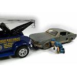 Tow Truck Driver Scott Figure, Blue - American Diorama Figurine 23905AD - 1/24 scale