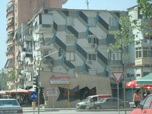 Escher-esque Building